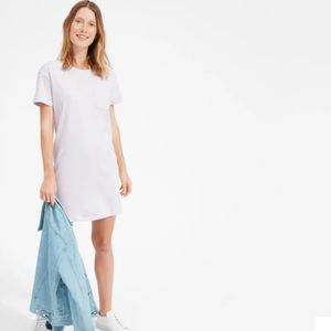 Everlane cotton box-cut tee dress